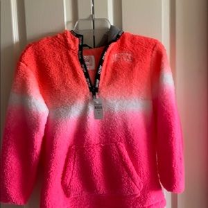 Justice girls size 10 hot pink sweater NWT